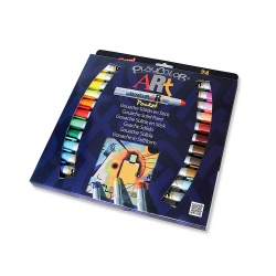 Stylos de peinture gouache solide 5g - ART POCKET - 24 couleurs assorties