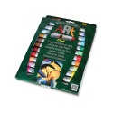 Sticks de peinture gouache solide artiste 10 g - 24 couleurs assorties - PLAYCOLOR ART ONE