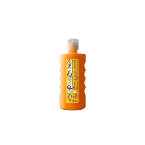 Peinture Gouache Liquide Basic 250ml. - Orange - Playcolor - 19221
