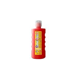Peinture gouache liquide BASIC 250ml. ROUGE