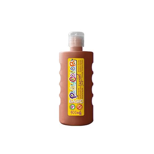 Peinture Gouache Liquide Basic 250ml. - Marron - Playcolor - 19311