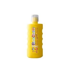 Peinture gouache liquide BASIC 500ml. JAUNE