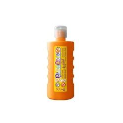 Peinture gouache liquide BASIC 500ml. ORANGE