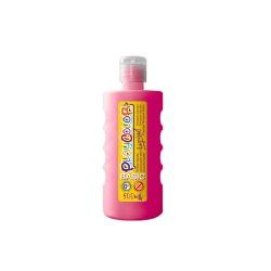 Peinture gouache liquide BASIC 500ml. FUSHIA