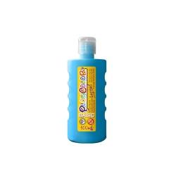 Peinture gouache liquide BASIC 500ml. BLEU CLAIR