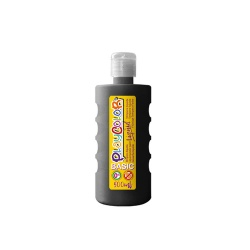 Peinture gouache liquide BASIC 500ml. NOIR