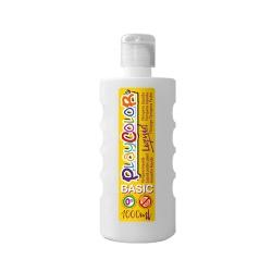 Peinture gouache liquide BASIC 1000ml. BLANC