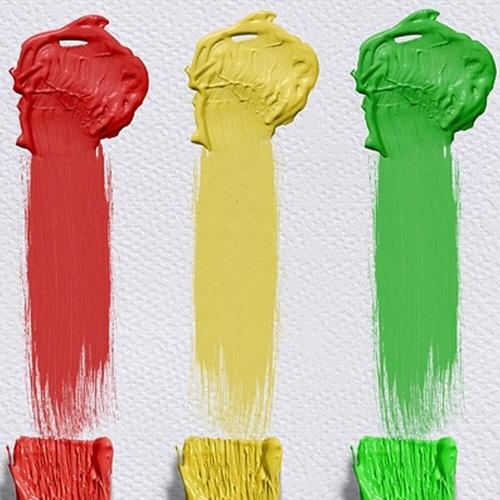 Peinture Gouache Liquide Basic 1000ml. - Rouge - Playcolor - 19511
