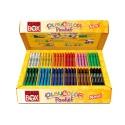Stylos de peinture gouache solide 5g - BASIC POCKET CLASS BOX - 144 couleurs assorties
