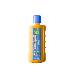 Peinture au doigt - 500 ml. Couleur ORANGE - FINGER PAINT BASIC