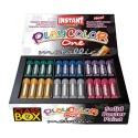 Sticks de peinture gouache solide 10g - METALLIC ONE CLASS BOX - 72 couleurs assorties
