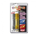 Sticks de peinture gouache solide 10g - METALLIC ONE - Couleur OR et ARGENT - 2 pcs