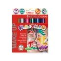 Sticks de maquillage sans parabènes 10g - MAKE UP METALLIC POCKET - 6 couleurs métalliques assorties