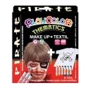 Pack 3-en-1 - Maquillage + T-Shirt à peindre + Stick de peinture pour textile - Thème PIRATE