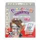 Pack 3-en-1 - Maquillage + T-Shirt à Peindre + Stick de Peinture pour Textile - Thème Robot - Playcolor - 58043