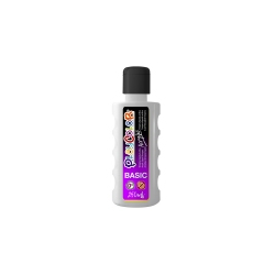 Bidon Peinture Liquide Acrylique 250 ml. - Couleur Blanc - Playcolor - Acrylic Basic - 18511
