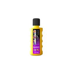 Bidon Peinture Liquide Acrylique 250 ml. - Couleur Jaune - Playcolor - Acrylic Basic - 18521