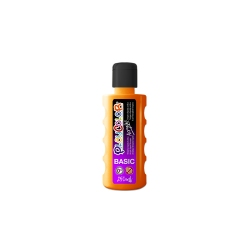 Bidon Peinture Liquide Acrylique 250 ml. - Couleur Orange - Playcolor - Acrylic Basic - 18531