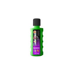 Peinture liquide acrylique 250 ml. - Couleur VERT FONCE - ACRYLIC BASIC