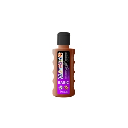 Bidon Peinture Liquide Acrylique 250 ml. - Couleur Marron - Playcolor - Acrylic Basic - 18611
