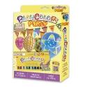 Pack Anniversaire 2-en-1 - 12 sticks de gouache solide 10g PLAYCOLOR + bannières à peindre et 12 ballons - ART & CRAFT