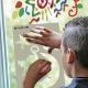 Pack Window 2-en-1 - 6 sticks de peinture pour vitre PLAYCOLOR + pochoirs + sticks de glue