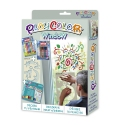 Pack Window 2-en-1 - 6 sticks de peinture pour vitre PLAYCOLOR + pochoirs + sticks de glue - ART & CRAFT