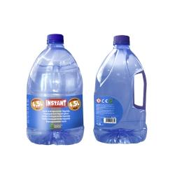 Bidon de Colle Liquide Transparente - Contenance 4,5 L - Grand Format - Spécial Slime - Instant - 11861