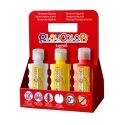 Lot de 6 Peinture gouache liquide BASIC 250ml avec casier de rangement - PLAYCOLOR