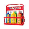 Lot de 6 Peinture gouache liquide BASIC 500ml avec casier de rangement - PLAYCOLOR