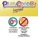 Lot de 6 Peinture Gouache Liquide Playcolor Basic 1000ml + Casier de Rangement - 19611