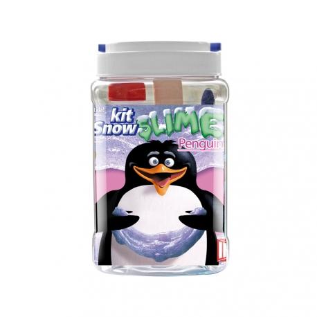 Kit pour fabriquer son SLIME - Thème Pingouin - INSTANT