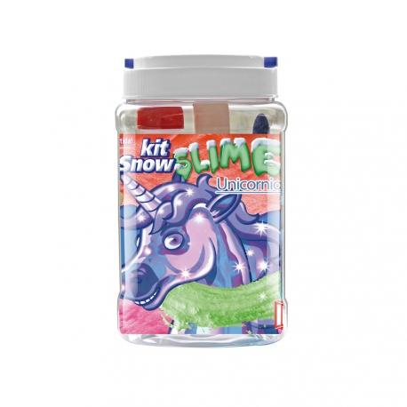 Kit pour fabriquer son SLIME - Thème Licorne - INSTANT