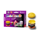 Lot de 6 pots de peinture acrylique - 40 ml. - 6 couleurs assorties - ACRYLIC BASIC