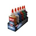 Lot de 6 Colles Métallique GALAXY 180ml - 6 couleurs assorties - Loisirs créatifs ou Slime - INSTANT