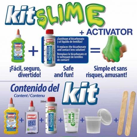 Kit pour fabriquer son SLIME - CERVELLE DE PIRATE
