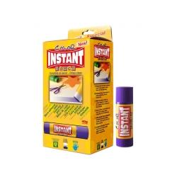 Baton de colle 40g - Couleur - facile à prendre en main pour les enfants - INSTANT