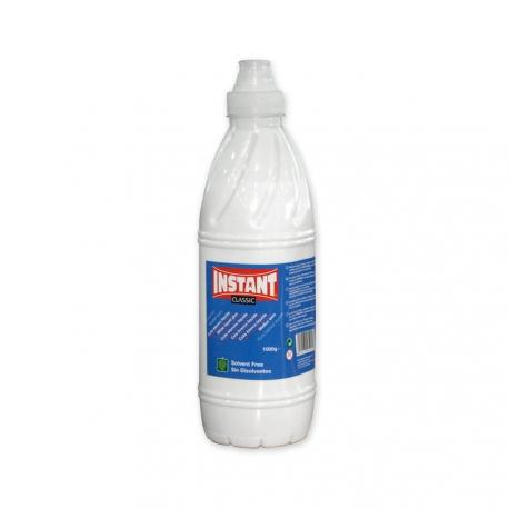 Colle blanche liquide - Bouteille de 1000g - GRAND FORMAT - Spécial SLIME ou Professionnels - INSTANT