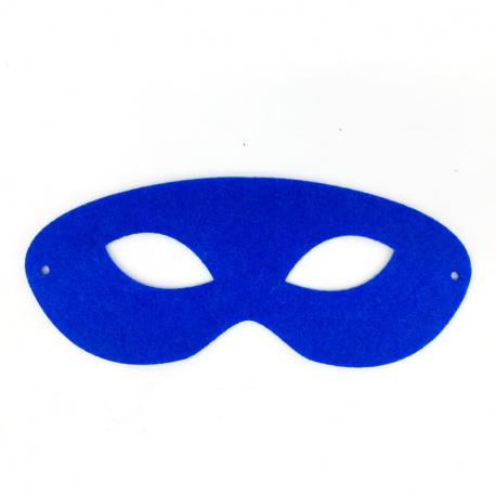 Lot de 2x6 Masques à Décorer en Feutrine - 10/18cm - Fil 30cm - Assortiment de 6 Coloris
