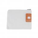 Trousse à Maquillage à Décorer - 100% coton - 170g/m² - Revêtement Intérieur Nylon - 18x14cm - Coloris blanc