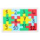 Lot de 10 Puzzle en Carton de 12 pièces avec Contour à Personnaliser - 14x21cm - Carton 900G/M2 - Coloris Blanc