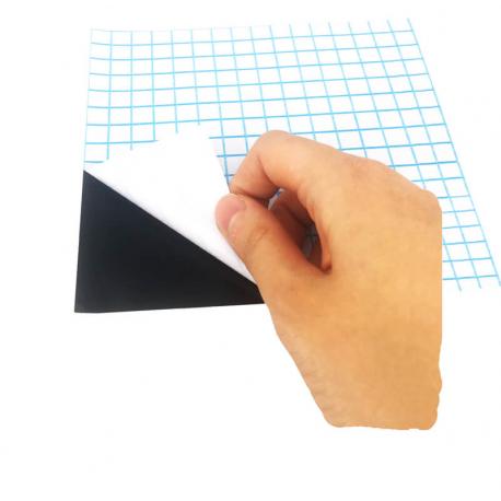 Coupons Ardoise Adhésifs Noirs - Format A4 - 5 pièces