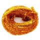 Echeveau de Chenille Pailletée - Diamètre 6mm - Longueur 10m - Coloris : Or