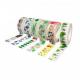 Pack de 6 Mini Rubans Adhésifs Repositionnables - Largeur 15mm - Longueur 10m - Thème : Nature