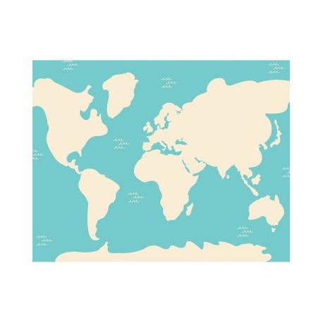 Pack de 240 Gommettes en Papier de 2 à 4cm - 12 Planches 17x22cm - Thème Enfants du Monde