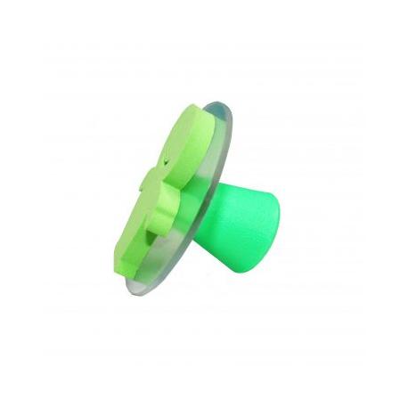 Valisette de 10 Tampons en Mousse Double Densité avec Poignée - Diamètre 7,5cm - Thème A La Maison - Assortiment de Couleurs