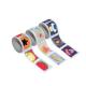 Pack de 425 Timbres Adhésifs Appréciation de 2,5mm - 3 Rouleaux de 5m - Thème Appréciation