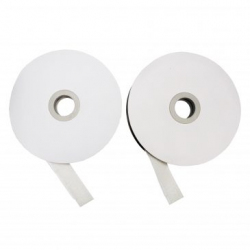 Lot de 2 Dévidoirs de Bandes Agripantes Adhésives - Longueur 5m - Coloris Blanc