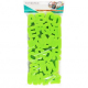 Pack de 26 Eponges Tampons à peindre 25mm - Coloris Vert - Thème Lettres