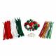 Maxi Pack Noël : 113 pompons + 38 pompons métallisés + 35 yeux mobiles + 99 chenilles + 24 chenilles métallisées